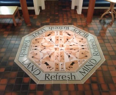 Glasgow Western Baths Custom Ceramic Tile Mural Commission