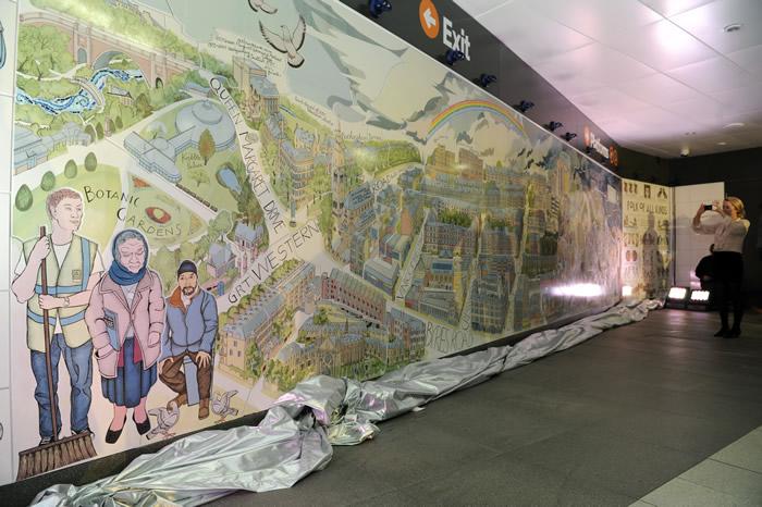 Glasgow subway system 290m refurb u c page 6 for Alasdair gray hillhead mural