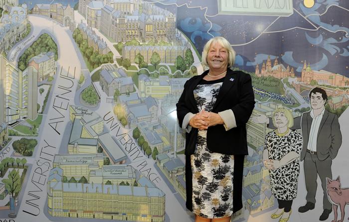 Glasgow hillhead subway station tiledscapes for Alasdair gray hillhead mural