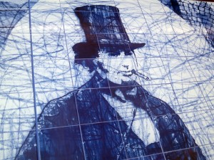 Tile Mural Section- Isambard Kingdom Brunel